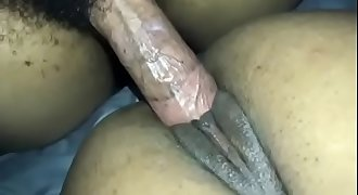 Stuffing petite pussy full of BBC